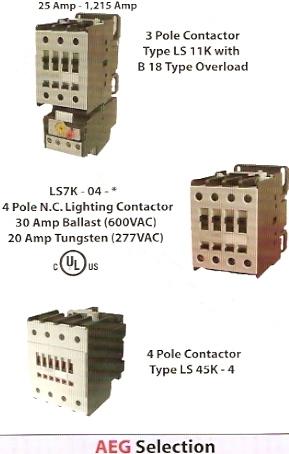 aeg motor controls - scibetta distributors - ssac, enm ... aeg ls07 contactor wiring diagram
